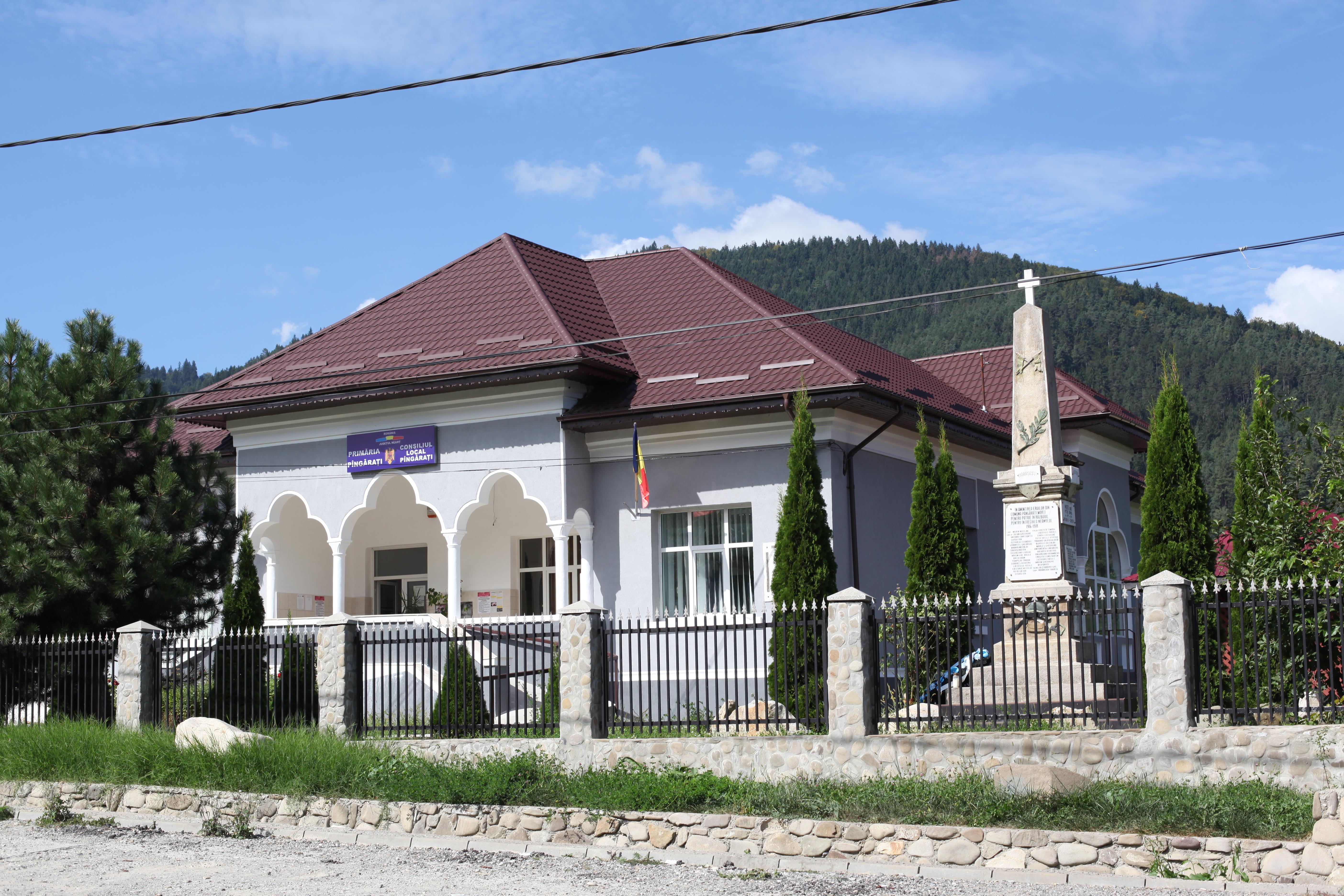 Sediul Primariei Comunei Pangarati